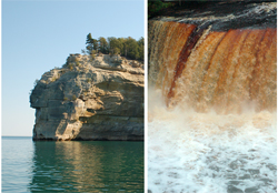 Pictured Rocks National Lakeshore, Tahquamenon Falls, National Forests, Tahquamenon Falls State Park